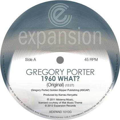 """Gregory Porter - 1960 What? (2019 Reissue, 12"""" Maxi)"""