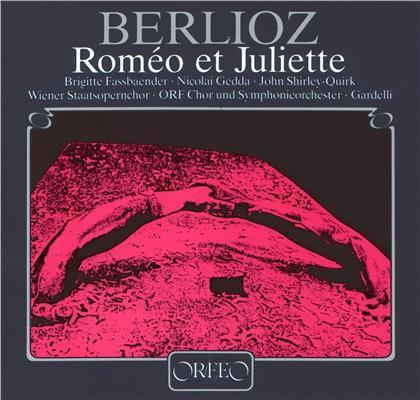 Héctor Berlioz (1803 - 1869), Lamberto Gardelli, Brigitte Fassbaender, Nicolai Gedda & ORF Symphonie Orchester - Romeo Et Juliette (2 LPs)