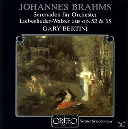 Johannes Brahms (1833-1897), Gary Bertini & Wiener Symphoniker - Serenaden Für Orchester (2 LPs)