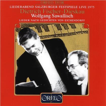 Dietrich Fischer-Dieskau & Wolfgang Sawallisch - Eichendorff Lieder (LP)