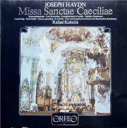 Lucia Popp, Joseph Haydn (1732-1809), Rafael Kubelik & Symphonieorchester des Bayerischen Rundfunks - Missa Sanctae Caeciliae (2 LPs)