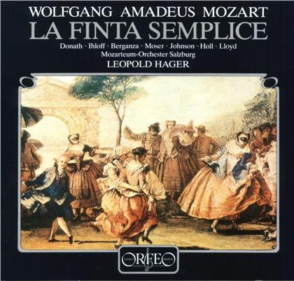 Helen Donath, Wolfgang Amadeus Mozart (1756-1791), Leopold Hager & Mozarteum Orchester Salzburg - La Finta Semplice (4 LPs)