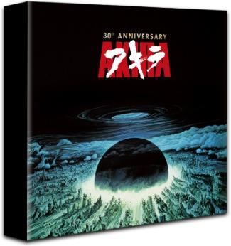 Akira (1988) (30th Anniversary Edition, Collector's Edition, Limited Edition, Blu-ray + DVD + Buch + 2 LPs)