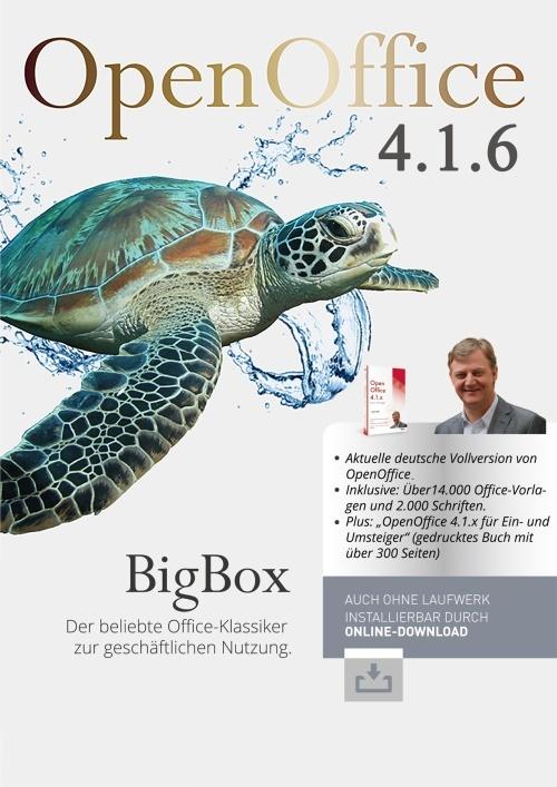 OpenOffice 4.1.6 BigBox