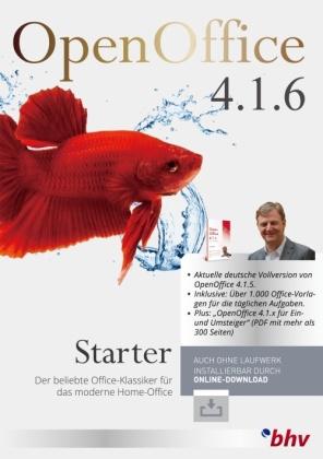OpenOffice 4.1.6 Starter