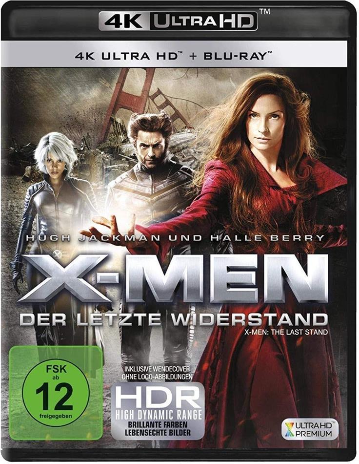 X-Men 3 - Der Letzte Widerstand (2006) (4K Ultra HD + Blu-ray)