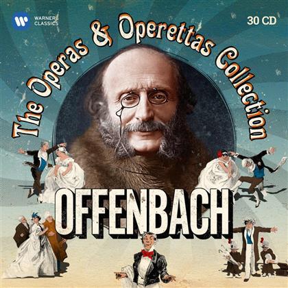 Michel Plasson, Sir John Eliot Gardiner, Willy Mattes, Teresa Berganza, Anneliese Rothenberger, … - Operas & Operettas (30 CDs)