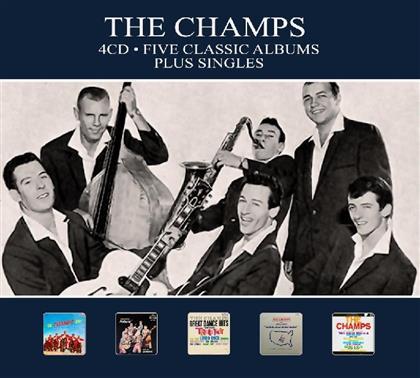 Champs - Five Classic Albums - Plus Singles (Digipack, 4 CDs)
