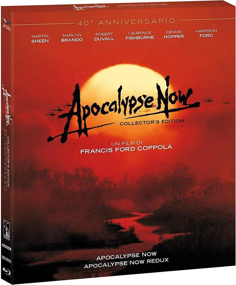 Apocalypse Now + Redux (1979) (40th Anniversary Edition, Mediabook, 2 Blu-rays)