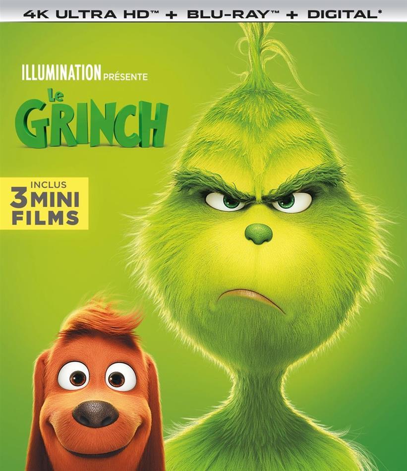 Le Grinch (2018) (4K Ultra HD + Blu-ray)