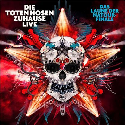 """Die Toten Hosen - Zuhause Live: Das Laune der Natour-Finale"""" plus """"Auf der Suche nach der Schnapsinsel: Live im SO36 (Digipack, 3 CDs)"""