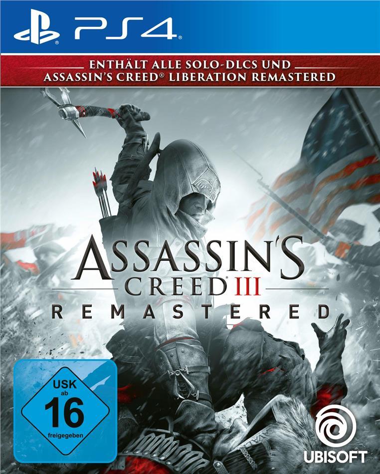 Assassins Creed 3 Remastered (German Edition)