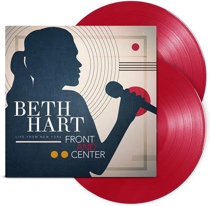 Beth Hart - Front And Center - Live From New York (Red Vinyl, 2 LPs + Digital Copy)