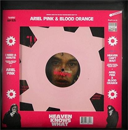 "Ariel Pink & Blood Orange - Heaven Knows What - OST (7"" Single)"
