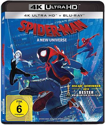Spider-Man - A New Universe (2018) (4K Ultra HD + Blu-ray)