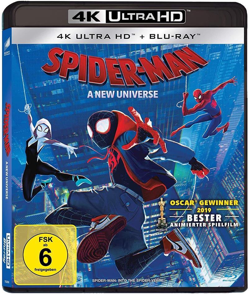 Spider-Man - A New Universe (2018) (4K Ultra HD + Blu-ray)