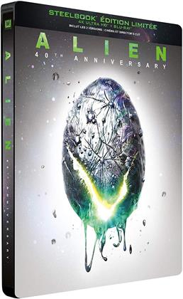 Alien (1979) (40th Anniversary Edition, Limited Edition, Steelbook, 4K Ultra HD + Blu-ray)
