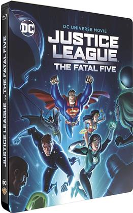 Justice League vs the Fatal Five (2019) (Day One Steelbook Edition, Edizione Limitata, Steelbook)