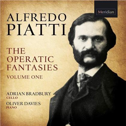 Alfredo Piatti (1822-1901), Adrian Bradbury & Oliver Davies - Operatic Fantasies 1
