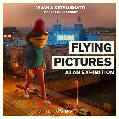 Vivan Bhatti & Bhatti Ketan - Flying Pictures At An Exhibition (LP)