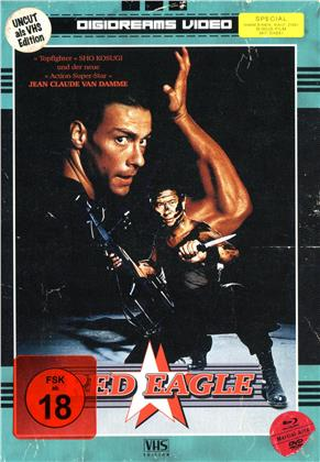 Red Eagle (1988) (VHS-Edition, Director's Cut, Edizione Limitata, Mediabook, Uncut, 2 Blu-ray + 2 DVD)