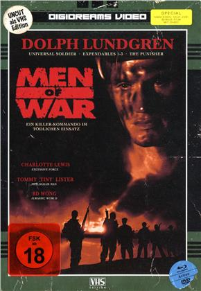 Men of War (1994) (VHS-Edition, Limited Edition, Mediabook, Uncut, Blu-ray + DVD)