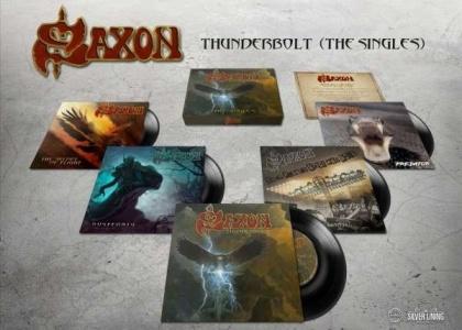 "Saxon - Thunderbolt (Boxset, 5 7"" Singles)"