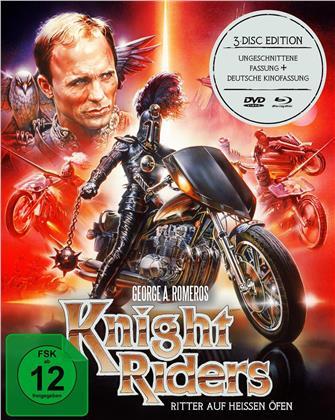 Knightriders - Ritter auf heissen Öfen (1981) (Kinoversion, Mediabook, Uncut, 2 Blu-rays + DVD)