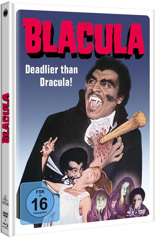 Blacula (1972) (Limited Edition, Mediabook, Blu-ray + DVD)
