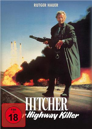Hitcher, der Highway Killer (1986) (Mediabook, Uncut, 2 Blu-rays)
