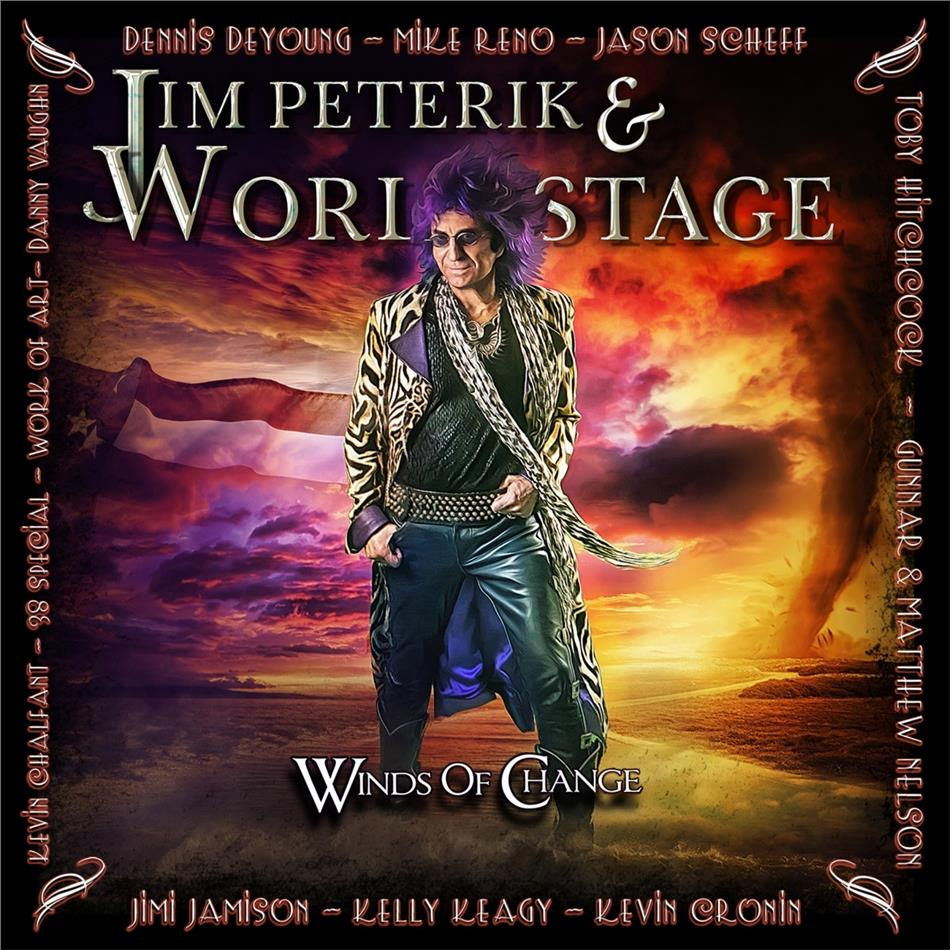 Jim Peterik (Survivor) & World Stage - Winds Of Change