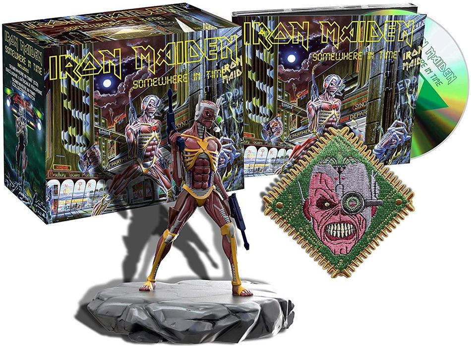 Iron Maiden - Somewhere In Time (2015 Remaster, Collectors Edition, PLG UK)
