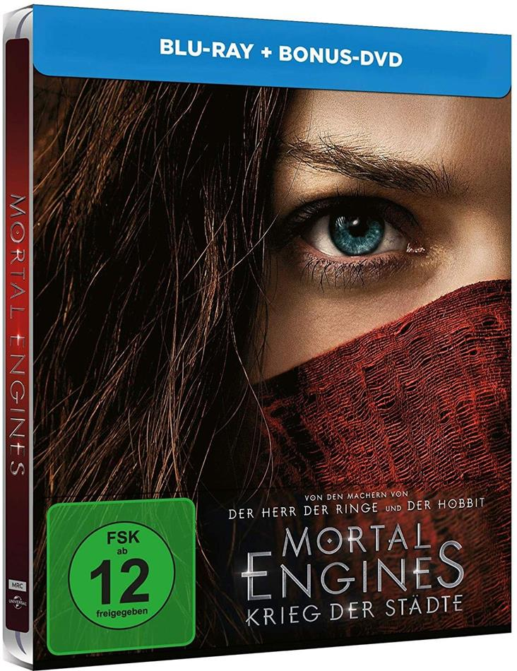 Mortal Engines - Krieg in den Städten (2018) (Limited Edition, Steelbook, Blu-ray + DVD)