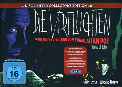Die Verfluchten (1960) (Cover A, Limited Edition, Mediabook, Blu-ray + DVD)