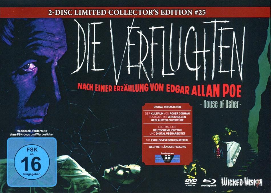 Die Verfluchten (1960) (Cover A, Limited Edition, Mediabook, Blu-ray + DVD)
