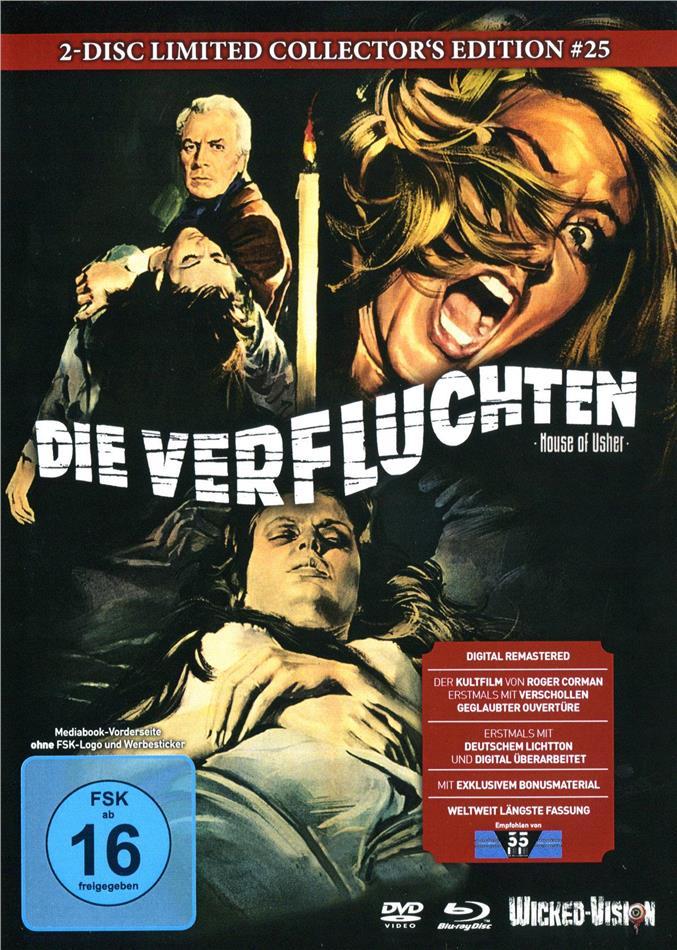 Die Verfluchten (1960) (Cover C, Limited Edition, Mediabook, Blu-ray + DVD)