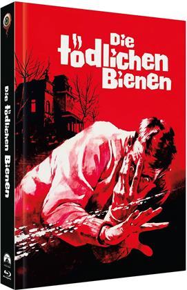Die tödlichen Bienen (1966) (Cover A, Collector's Edition, Limited Edition, Mediabook, Blu-ray + DVD)