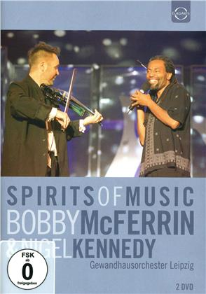 Nigel Kennedy & Bobby McFerrin - Spirits of Music - Live in Leipzig 2002 (2 DVDs)