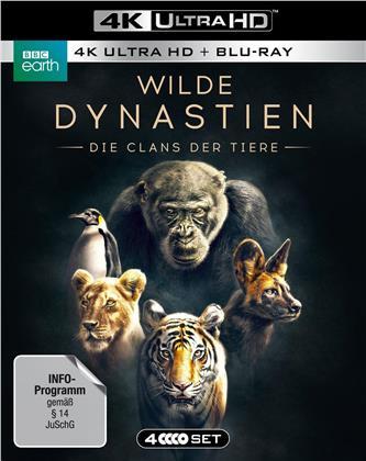 Wilde Dynastien - Die Clans der Tiere (2018) (BBC Earth, 2 4K Ultra HDs + 2 Blu-rays)