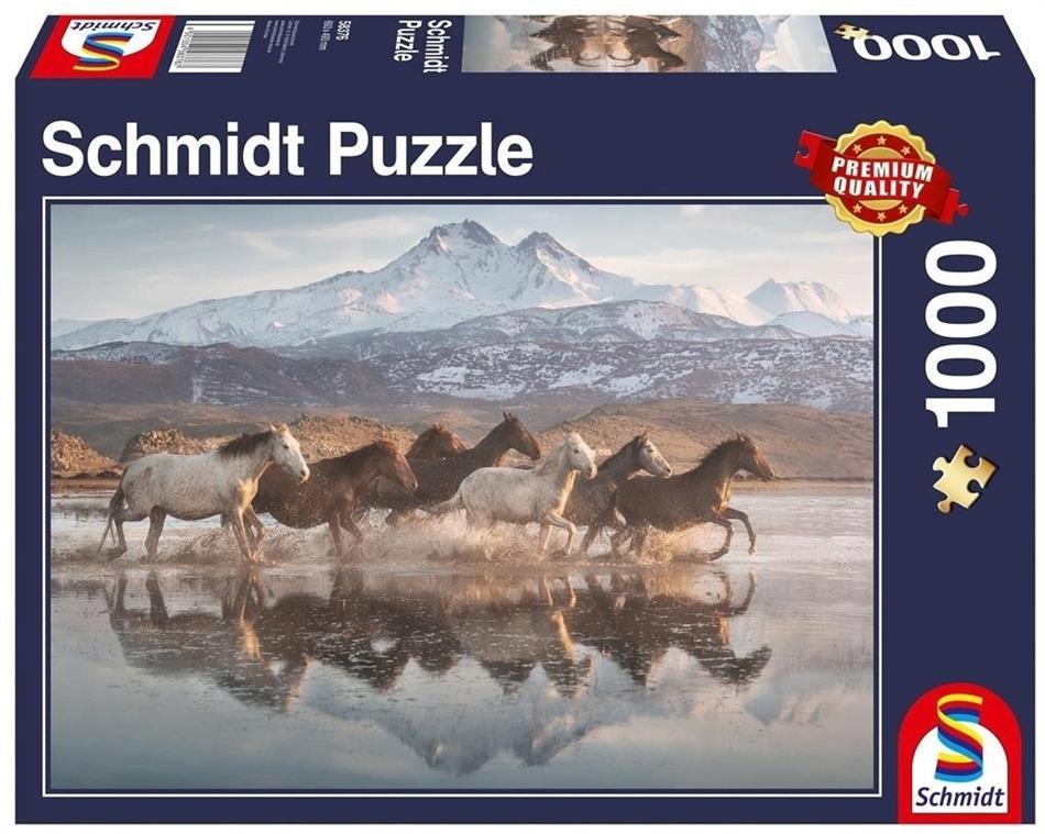 Pferde in Kappadokien - 1000 Teile Puzzle