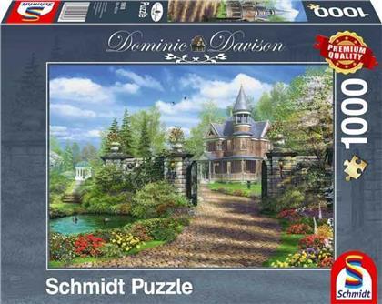 Idyllisches Landgut - 1000 Teile Puzzle