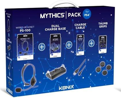 KONIX - Mythics Accessories Pack for Playstation 4