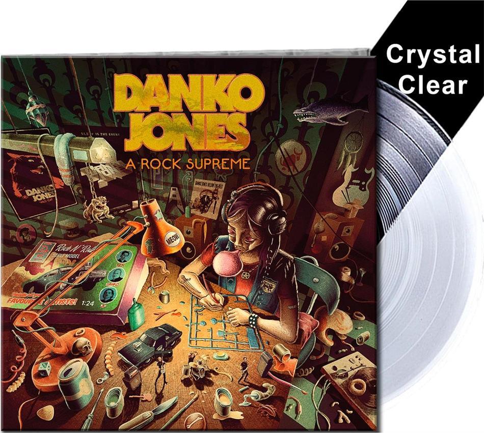 Danko Jones - A Rock Supreme (Gatefold, Crystal Clear Vinyl, LP)