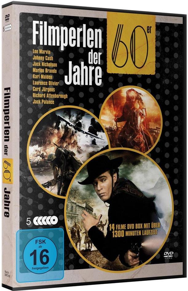 Filmperlen der 60er Jahre - Deluxe Box (5 DVDs)