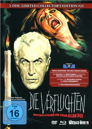 Die Verfluchten - Der Untergang des Hauses Usher (1960) (Cover D, Collector's Edition, Limited Edition, Mediabook, Blu-ray + DVD)