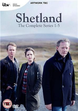 Shetland - Series 1-5 (8 DVDs)