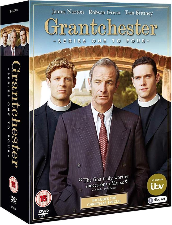 Grantchester - Series 1-4 (8 DVDs)