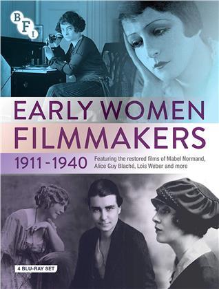 Early Women Filmmakers 1911-1940 (s/w, 4 Blu-rays)