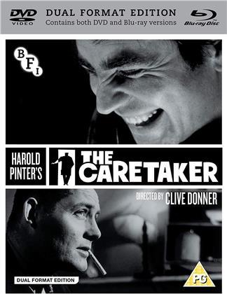 The Caretaker (1963) (DualDisc, s/w, Blu-ray + DVD)
