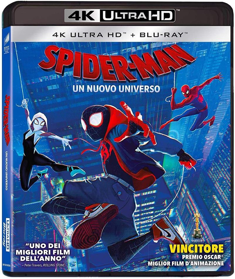 Spider-Man - Un nuovo universo (2018) (4K Ultra HD + Blu-ray)